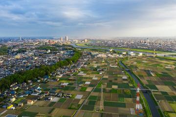 都市景観 空撮