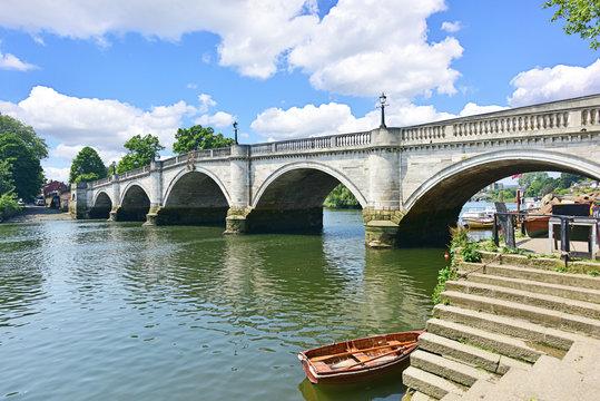 Thames River at Richmond Bridge