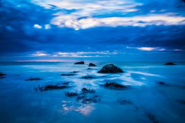 Fototapeta Seascapes of Cape Sable Island Nova Scotia Canada
