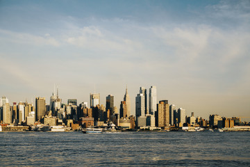 Wall Mural - Beautiful New York skyline