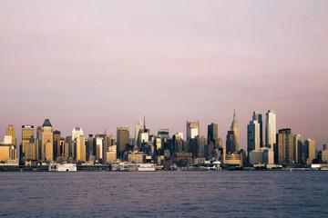Fototapete - Creative New York skyline