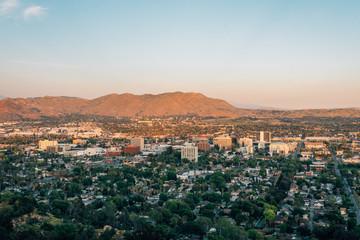Wall Mural - View of downtown Riverside, from Mount Rubidoux in Riverside, California