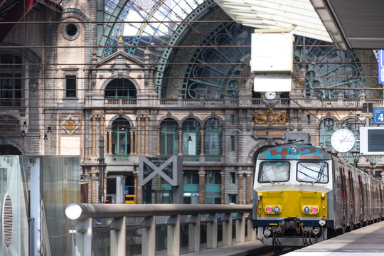 inside central station antwerp belgium