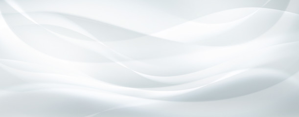 In de dag Abstract wave abstract white background
