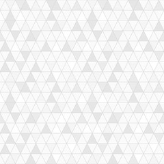 Poster Geometric Triangle seamless pattern vector, random gray shade.
