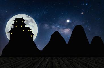 Milky Way Mountain View