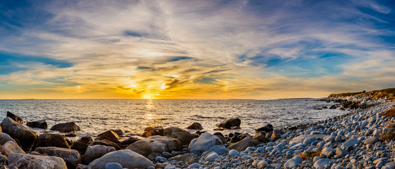 Coastal shoreline seascapes of Nova Scotia.