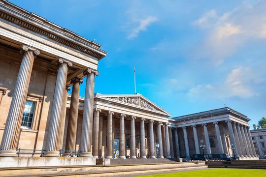 The British Museum in London, UK