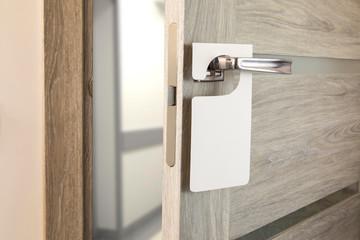 White door hanger