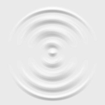 Splash ripple waves water surface decoration grey background vector illustration