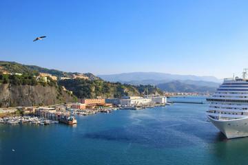 Savona (Italy) - Cityscape, Coastline, view from a cruise ship