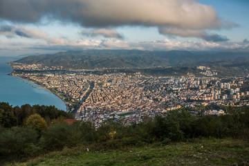 Fotomurales - Ordu city from Boztepe