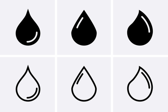 Water drop Icons