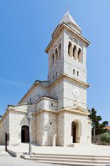 Pakostane, Croatia - Beautiful old church architecture at Pakostane