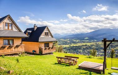 Tatry Mountains and Zakopane city surroundings