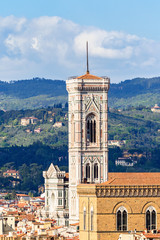 Giotto's bell tower in Florence