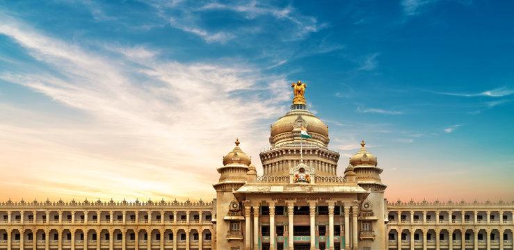 Vidhana soudha of Parliment, Bangalore, India 1