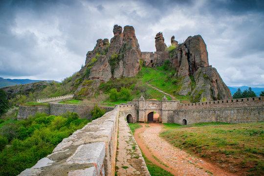 Belogradchik Rocks in Bulgaria - rock formations natural landscape