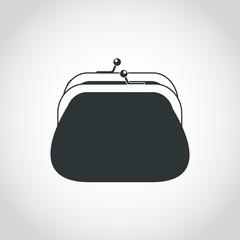 Wallet icon. Vector