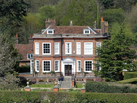 Missenden House an 18th century Georgian property and Grade II listed building