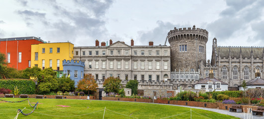 Wall Mural - Dublin castle, Ireland