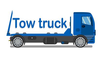 Car Towing Company Logo, Signboard Flat Template