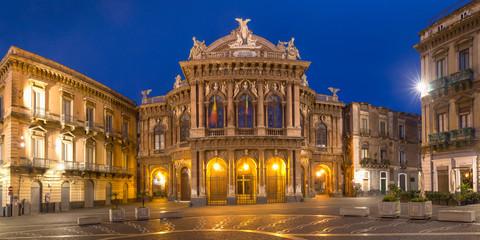 Theater Massimo Bellini, Catania, Sicily, Italy