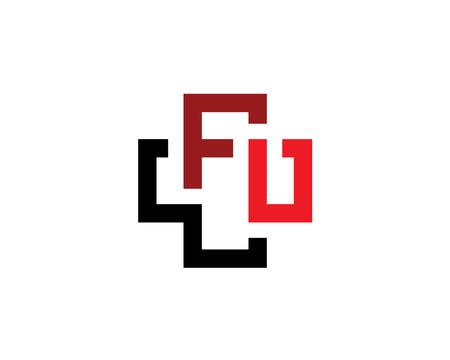 initial letter W F U as a medical croos symbol