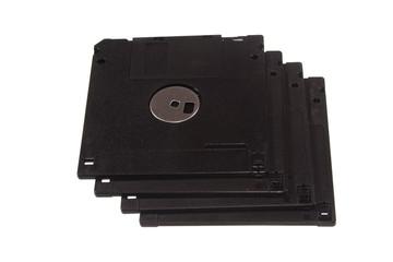hard drive isolated on white background