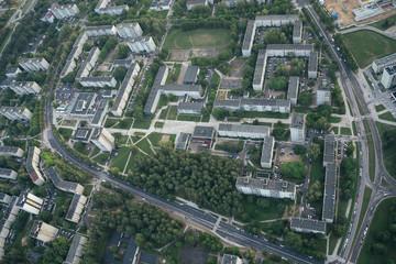 Aerial View Of Vilnius.