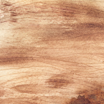 Watercolor wood texture for design or background