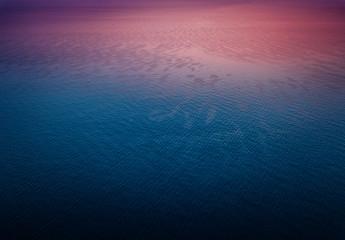 Sea background at sunrise