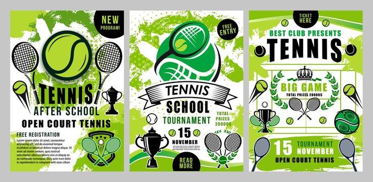 Tennis sport school, team club tournament