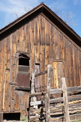 Abandoned Building in Mogollon, NM Ghost Town