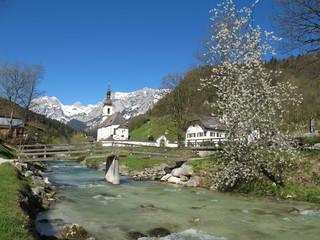 Fototapete - ramsau in berchtesgaden
