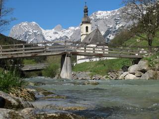 Wall Mural - ramsau in berchtesgaden