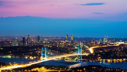 Fotomurales - Bosphorus Bridge in Istanbul