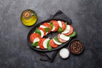 Delicious italian caprese salad