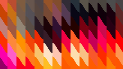 Colorful Geometric Shapes Background Wall mural