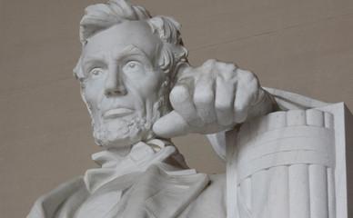 Lincoln Memorial between Columns - Photo