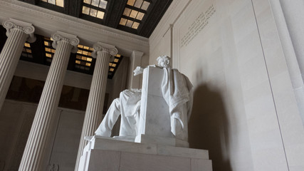 Lincoln Memorial between Columns - Photo
