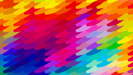 Abstract Colorful Geometric Shapes Background Illustrator Wall mural