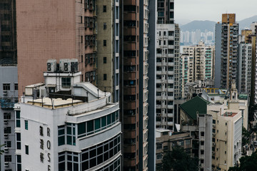 High Rises in Hong Kong