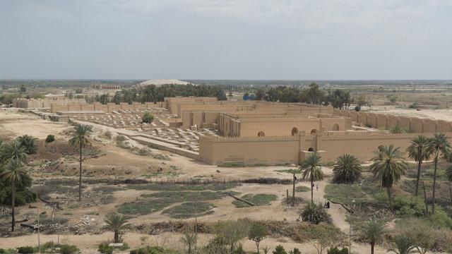 Babylon city, Iraq