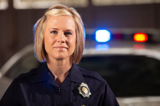 Portrait of a Police Woman