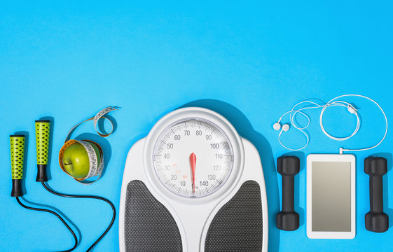 Fitness, healthy lifestyle and weight loss