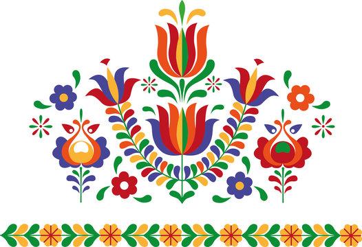 Folk ornament from Eastern Slovakia