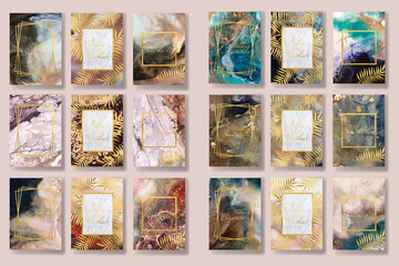 background texture luxury liquid marble and gold. for business cards, flyers, flyer, banner, website, paper printing. trend vector
