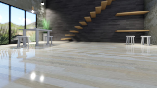 showroom background render