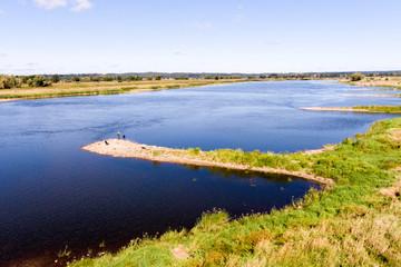 Der Fluss die Oder